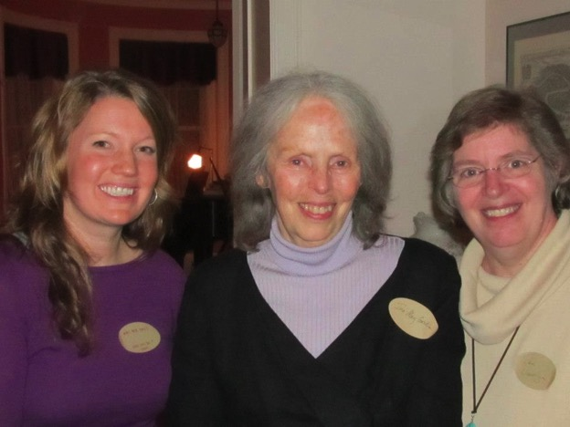 Mary Beth, Ina May Gaskin, and Pam at a Birth Worker Gathering in DC, 2012